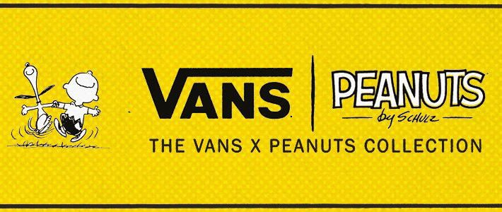 VANS X PEANUTS: Comics You Can Wear