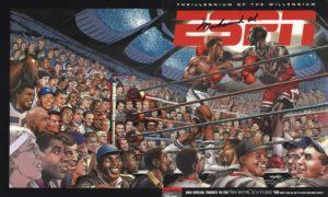 Jordan vs Ali - ESPN the Magazine - Neal Adams