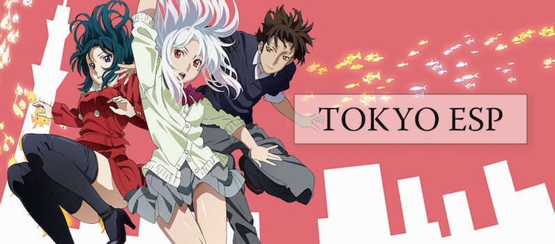 tokyo ESP anime banner, funimation