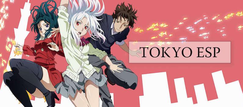 tokyo ESP anime banner, funimation