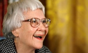 Harper Lee in 2007. Photograph: Chip Somodevilla/Getty Images