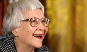 Harper Lee in 2007. Photograph: Chip Somodevilla/Getty Images