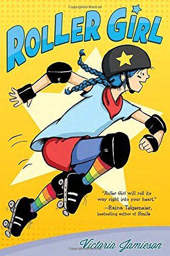 Roller Girl graphic novel cover