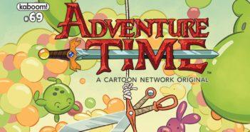 Adventure Time #69 Header