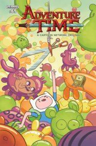 Adventure Time #69, cover by Rii Abrego and Shelli Paroline