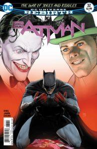 Batman #32 - DC Comics - Mikel JanÍn