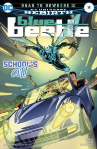 Blue Beetle #14 - DC Comics - Thony Silas