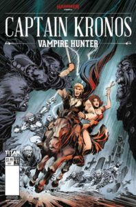 Captain Kronos: Vampire Hunter #1, Publisher: Hammer at Titan, Writer: Dan Abnett, Artist: Tom Mandrake, Colorist: Sian Mandrake