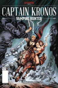 Captain Kronos: Vampire Hunter #1, Publisher: Hammer at Titan, Writer: Dan Abnett, Artist: Tom Mandrake, Colorist: Sian Mandrake