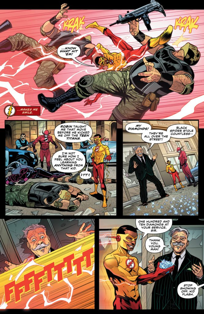 The Flash #32: written by Joshua Williamson, art by Christian Duce, colors by Ivan Plascencia, letters by Steve Wands