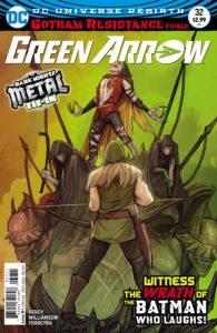 Green Arrow #32 - DC Comics - Stjepan Sejic