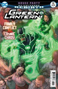 Green Lanterns #32 - DC Comics - Riccardo Federici and Tomeu Morey