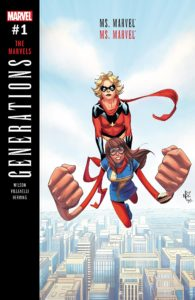 Generations: Captain Marvel & Ms. Marvel - Cover by Nelson Blake II