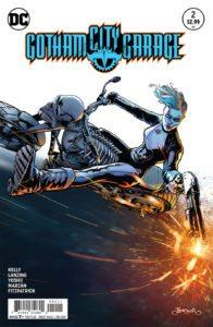 Gotham City Garage #2 - DC Comics - Jason Badower