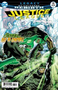Justice League #30 - DC Comics - Bryan Hitch and Alex Sinclair