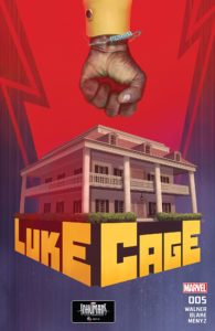 "Luke Cage #5 - Cover by Scott ""Rahzzah"" Wilson"