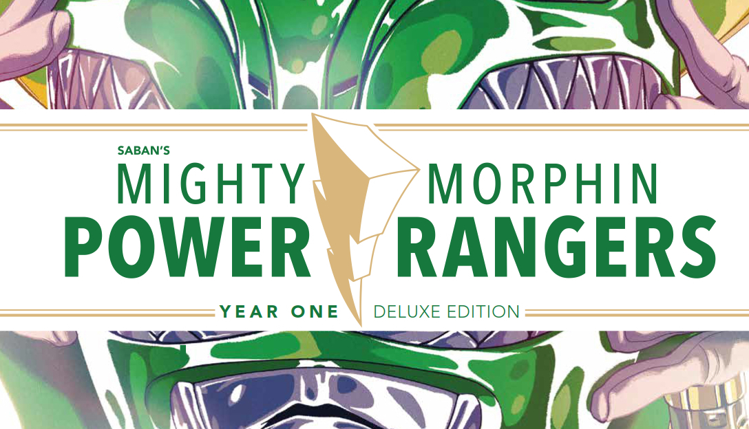Might Morphin Power Rangers Year One Hardcover cover detail; BOOM! Studios 2017