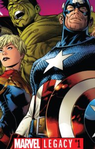 Marvel Legacy #1 - Cover by Joe Quesada