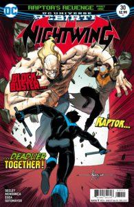 Nightwing #30 - DC Comics - Javier Fernandez and Chris Sotomayor