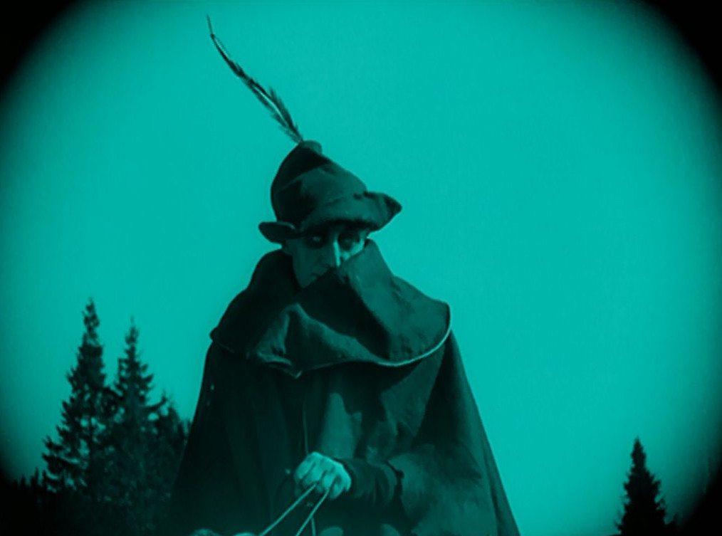 Count Orlok in disguise in Nosferatu