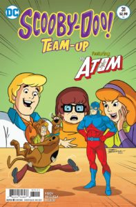 Scooby-Doo Team-Up #31 - DC Comics - Dario Brizuela and Franco Riesco