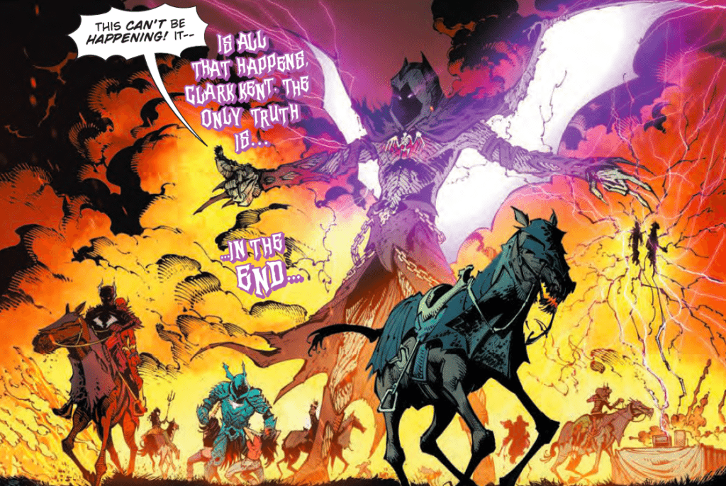"Dark Nights: Metal #3 - DC Comics - Greg ""Chaos Bringer"" Capullo, Jonathon ""Grim Reaper"" Glapion and FCO ""Overkill"" Plascencia"