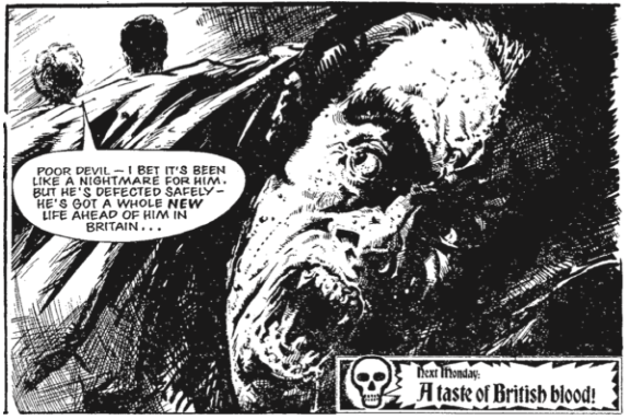 The Dracula File Gerry Finley-Day, Simon Furman and Ken Noble (writers); Eric Bradbury, Geoff Senior and Keith Page (artists) Rebellion: 2000 AD October 16, 2017 (Originally serialized in SCREAM! issues 1-15, 1984 and Holiday Specials 1985-1988)