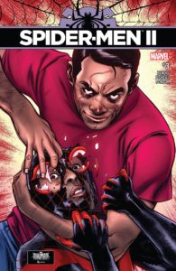 Spider-Men II #3 - Cover by Sara Pichelli