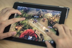 Vainglory on an iPad