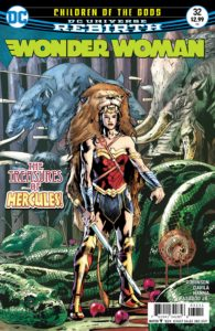 Wonder Woman #32 - DC Comics - Bryan Hitch and Alex Sinclair
