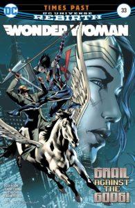 Wonder Woman #33 - DC Comics - Bryan Hitch and Alex Sinclair