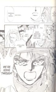 Basara volume 1, page 55, by Yumi Tamura.