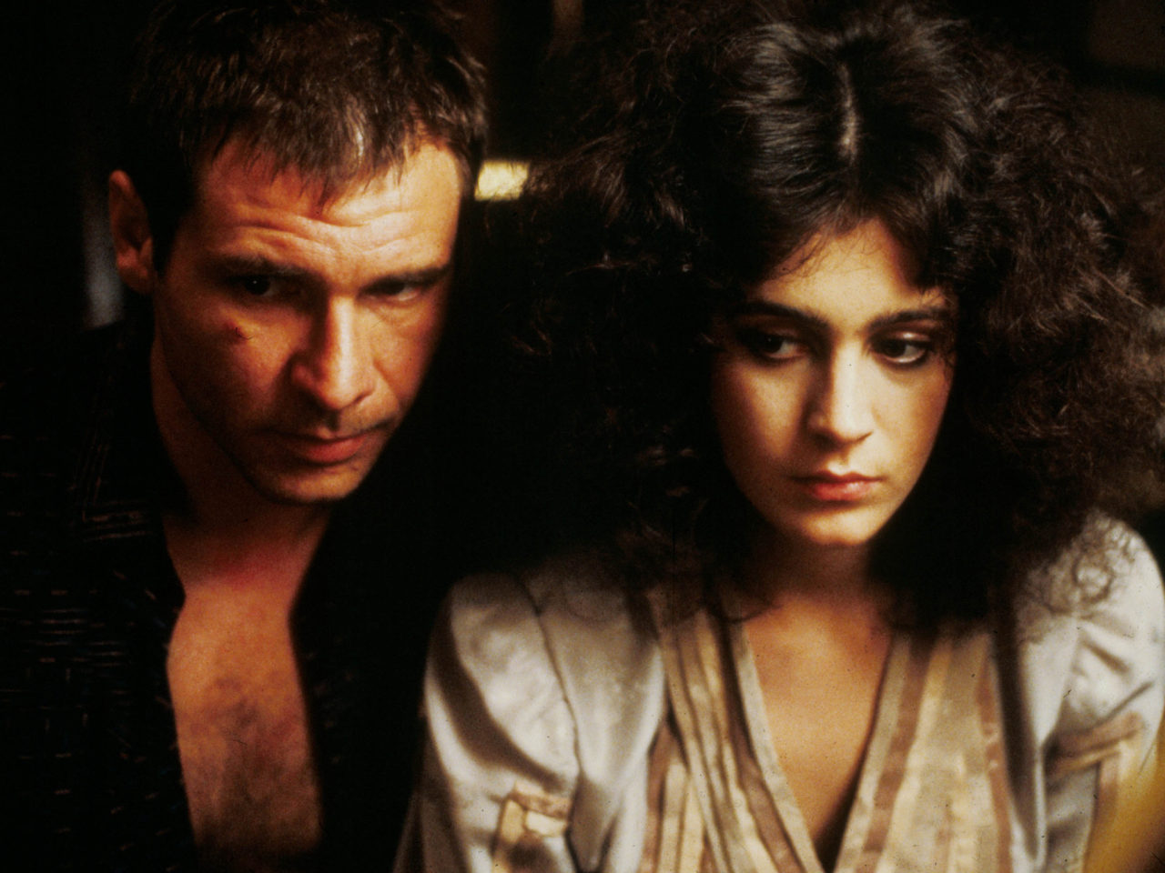 Blade Runner, Harrison Ford & Sean Young, 1982