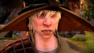 Cole in Dragon Age Inquisition