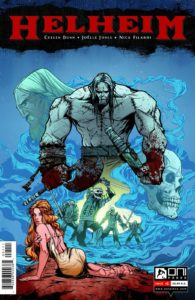 Helheim #1, Writer: Cullen Bunn, Artist: Joelle Jones, Colorist: Nick FIlardi, Publisher: Oni Comics