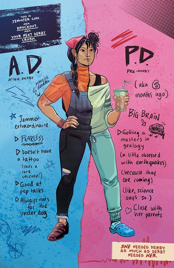 SLAM! Knockout character profile
