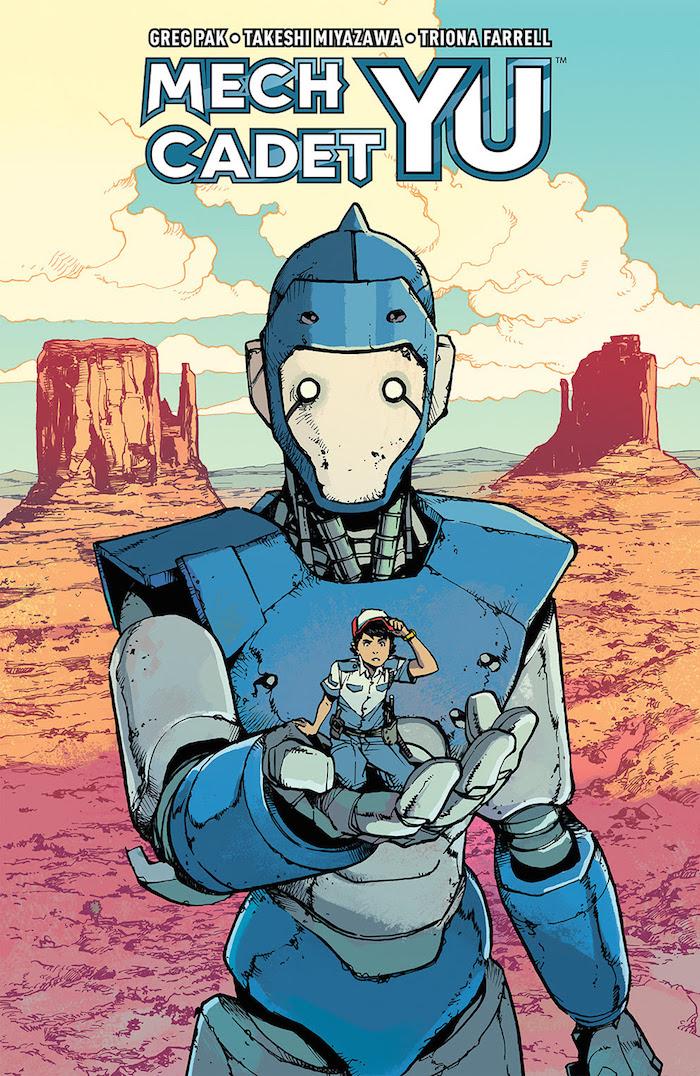 Mech Cadet Yu #1 Publisher: BOOM! Studios Writer: Greg Pak Artist: Takeshi Miyazawa
