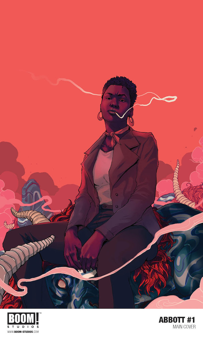 Supernatural Crime Thriller Abbott by Saladin Ahmed and Sami Kivelä Acclaimed novelist's first original comic series debuts in January 2018