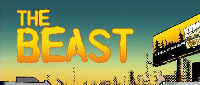 The Beast, Hugh Goldring (Writer), Nicole Marie Burton (Artist), Dr. Patrick McCurdy (Production Assistance), Ad Astra Comix, 2017
