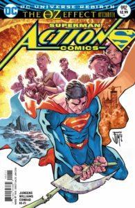 Action Comics 992 - Dan Jurgens and Rob Williams (Writers), Will Conrad (Artist), Hi-Fi (Colorist), Rob Leigh (Letterer), Francis Manapul (Cover) - DC Comics - November 2017