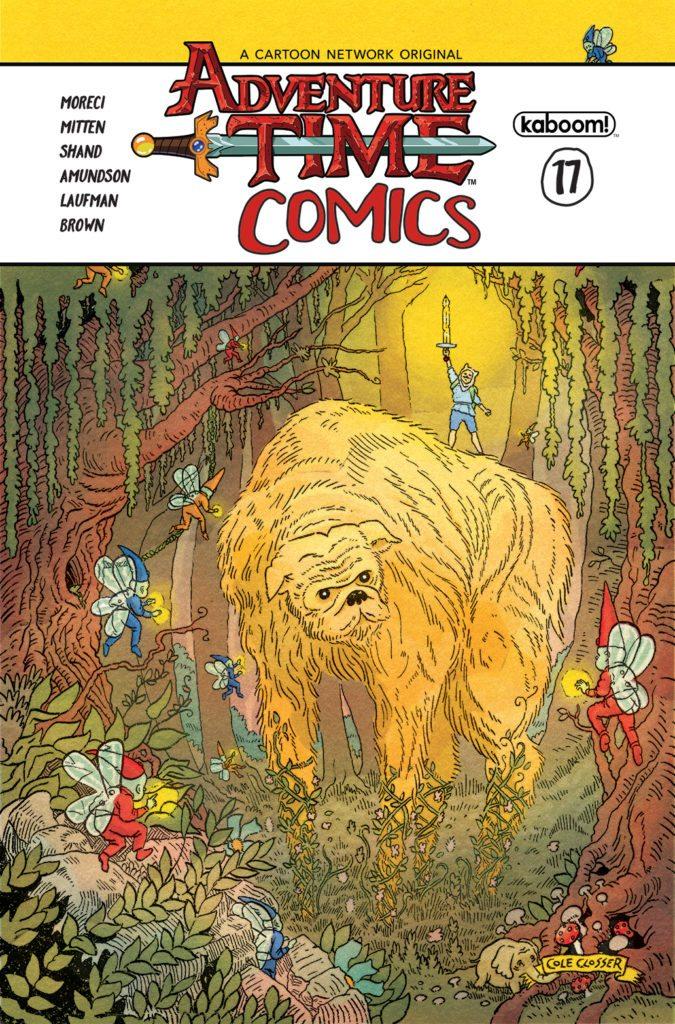 Adventure Time Comics Issue #17, image from kaBOOM!
