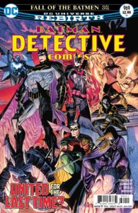 Detective Comics #969 - James Tynion IV (Writer), Joe Bennett (Penciller), Sal Regla (Inker), Jason Wright (Colorist), Sal Cipriano (Letterer), Guillem March and Tomeu Morey (Cover) - DC Comics - November 2017