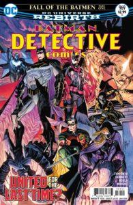 Detective Comics #969 - James Tynion IV (Writer), Joe Bennett (Penciller), Sal Regla (Inker), Jason Wright (Colorist), Sal Cipriano (Letterer), Guillem March and Tomeu Morey (Cover) - DC Comics - November 2017