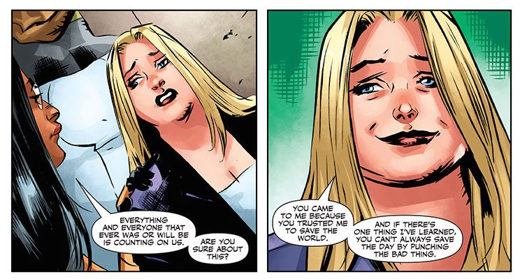 FAITH AND THE FUTURE FORCE #4 (of 4) Written by JODY HOUSER Art by CARY NORD