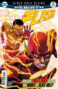 The Flash #35 - Joshua Williamson and Michael Moreci (Writers), Pop Mhan (Artist), Ivan Plascencia (Colorist), Steve Wands (Letterer) Neil Googe and Ivan Plascencia (Cover) - DC Comics - November 2017