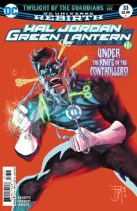 Hal Jordan and the Green Lantern Corps #33 - Robert Venditti (Writer), Tom Derenick (Breakdowns), Jack Herbert (Penciller and Inker), Jason Wright (Colorist), Dave Sharpe (Letterer), Francis Manapul (Cover) - DC Comics - November 2017