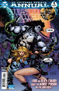 Justice League of America Annual #1 - Steve Orlando (Writer), Kelly Jones (Artist), Michelle Madsen (Colorist), Josh Reed (Letterer) - DC Comics - November 2017