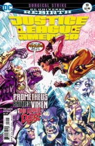 Justice League of America #19 - Steve Orlando (Writer), Hugo Petrus (Artist), Hi-Fi (Colorist), Clayton Cowles (Letterer), Carlos D'anda (Cover) - DC Comics - November 2017