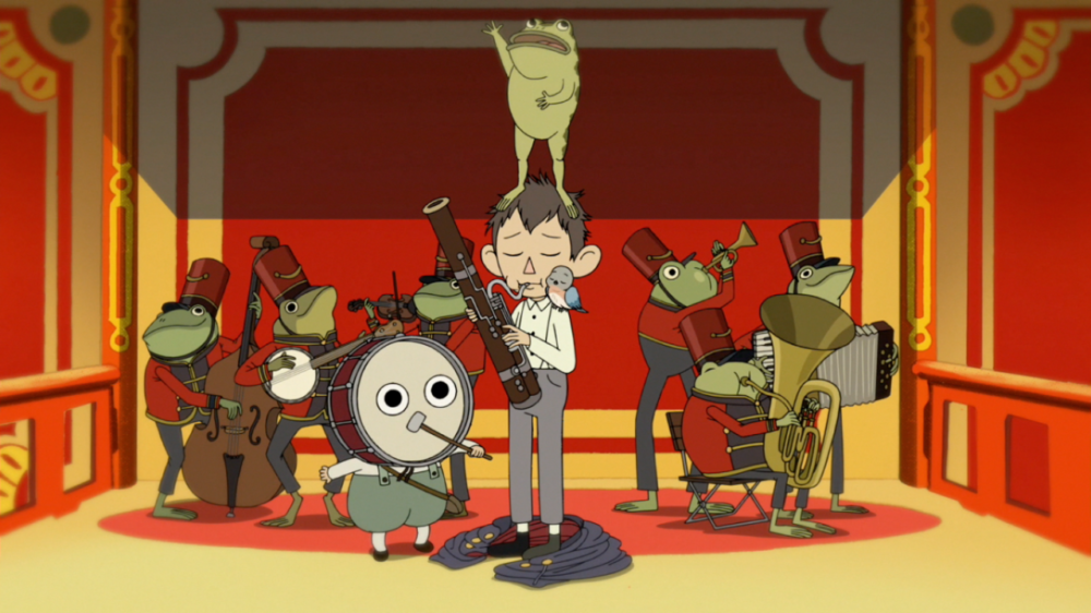 Over the Garden Wall, Cartoon Network, Nate Cash, Greg (Collin Dean), Wirt (Elijah Wood), Greg's Frog (Jack Jones), Beatrice (Melanie Lynskey), 2014