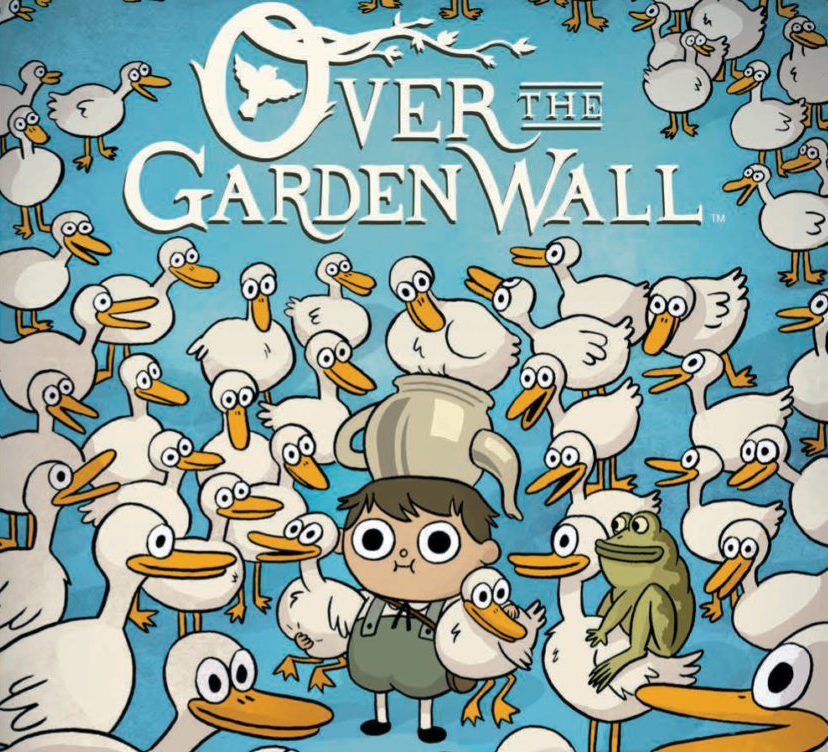 Over the Garden Wall, Jim Campbell, BOOM! Studios, 2016, Issue #3